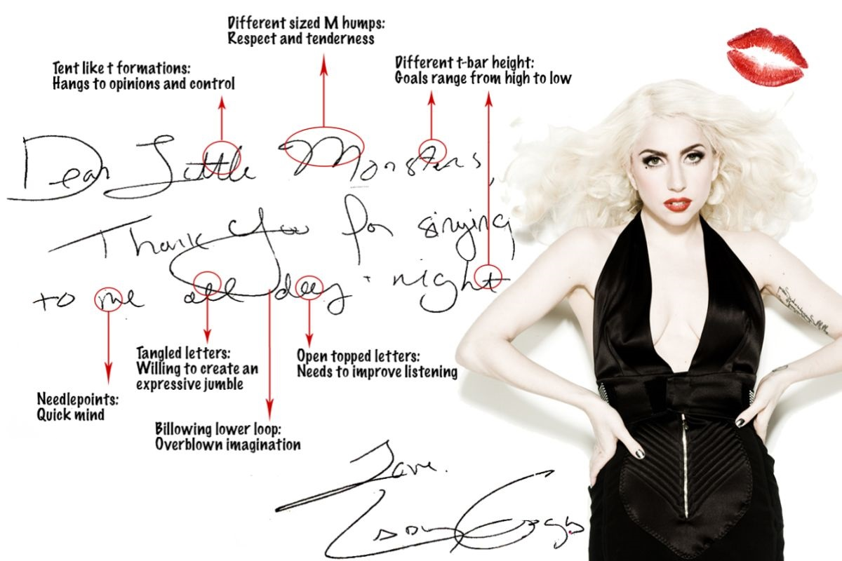 graphology-LadyGaga